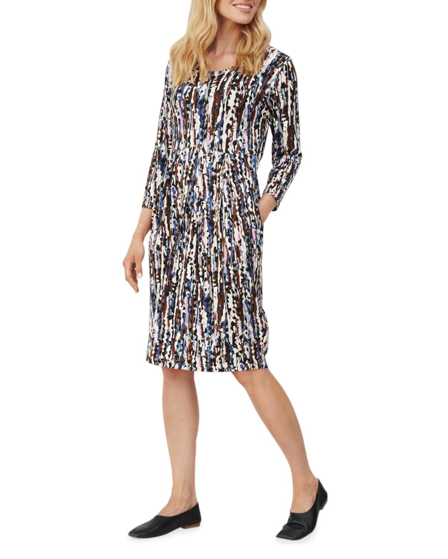 Noma Printed Jersey Dress