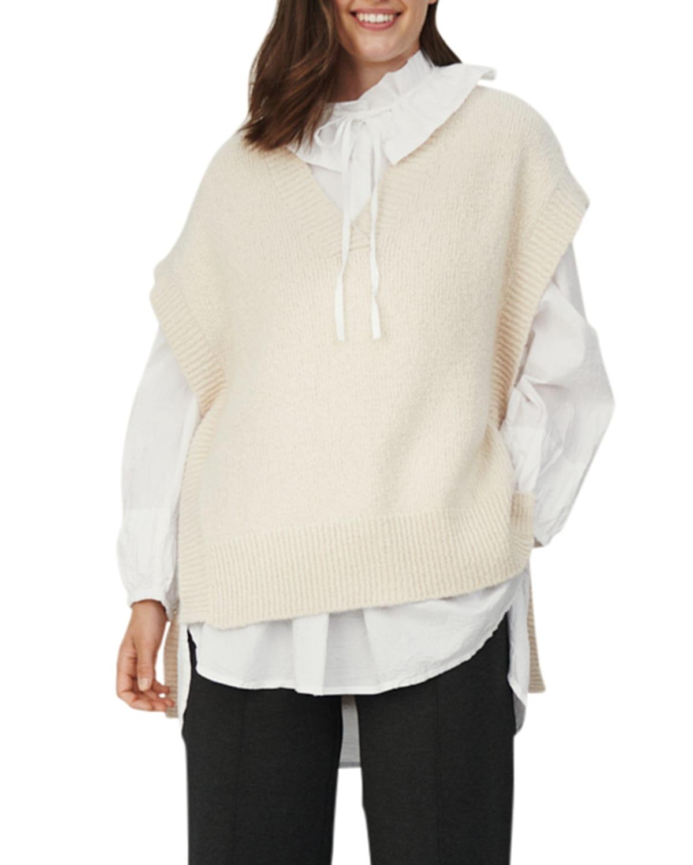 Franka V-Neck Sweater Top