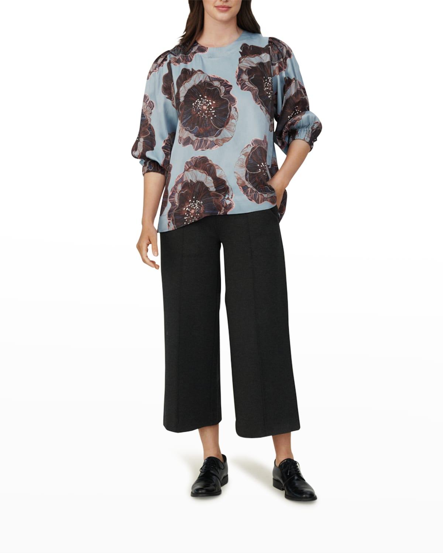 Brisa Floral 3/4-Sleeve Top