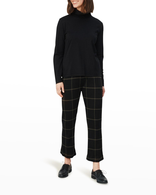 Pabala Windowpane Trousers