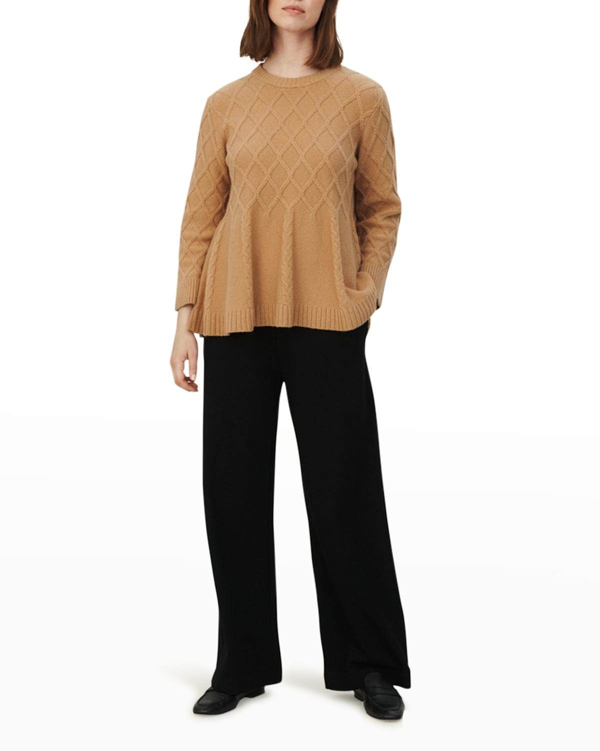 Frilly Textured Pullover