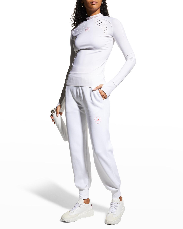Organic Cotton Logo Jogger Pants