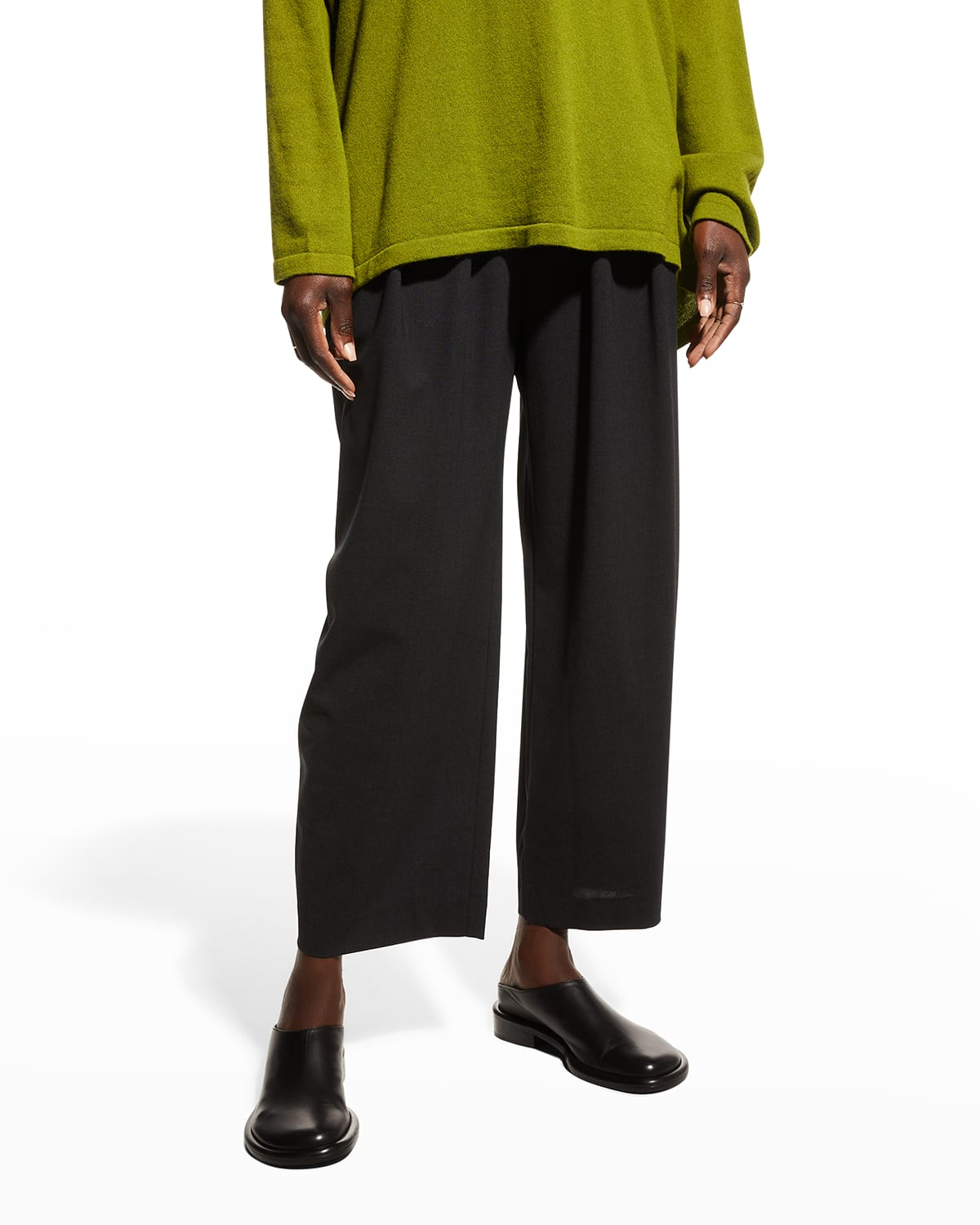 Pleated Japanese Trousers