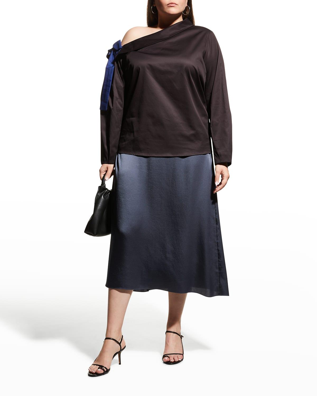 Plus Size Liana Off-Shoulder Blouse