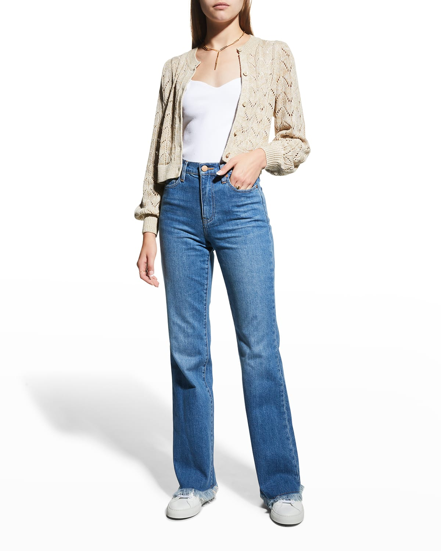 Fabulous Mid-Rise 70s Boot-Cut Jeans