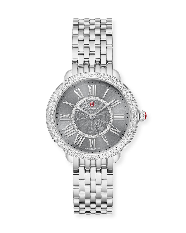 Serein Mid Stainless Steel and Diamond Watch