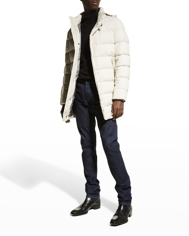 Men's Gore-Tex Mid-Length Down Coat