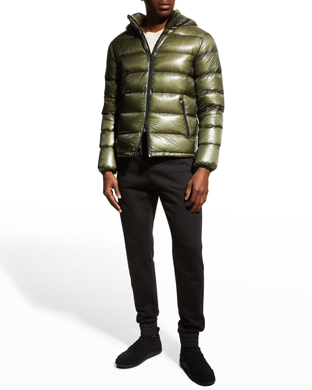 Men's Packable Down Jacket w/ Removable Hood