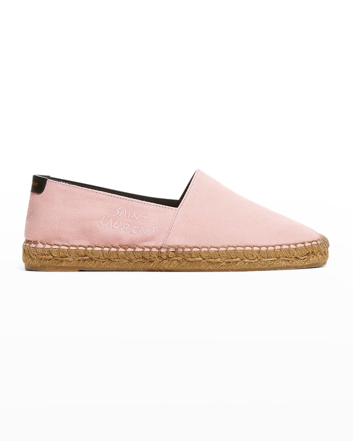 Cotton Flat Espadrille Loafers