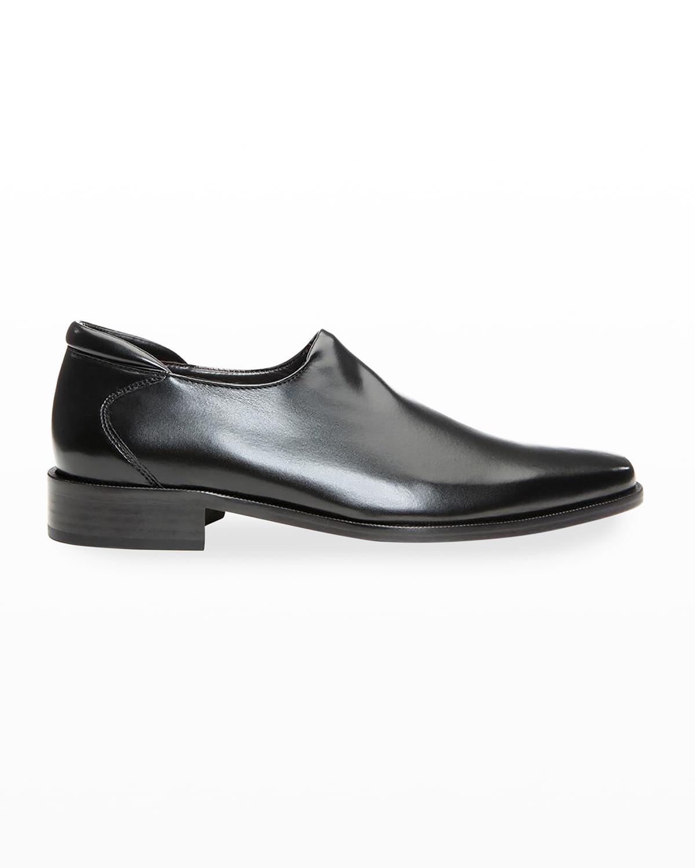 Men's Rex Leather Slip-Ons