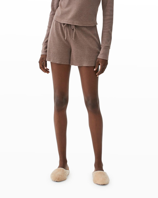 Sudie Thermal Drawstring Shorts