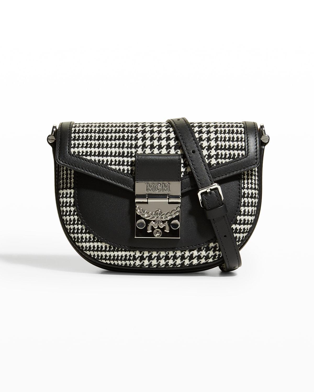 Patricia Houndstooth Mini Belt Bag