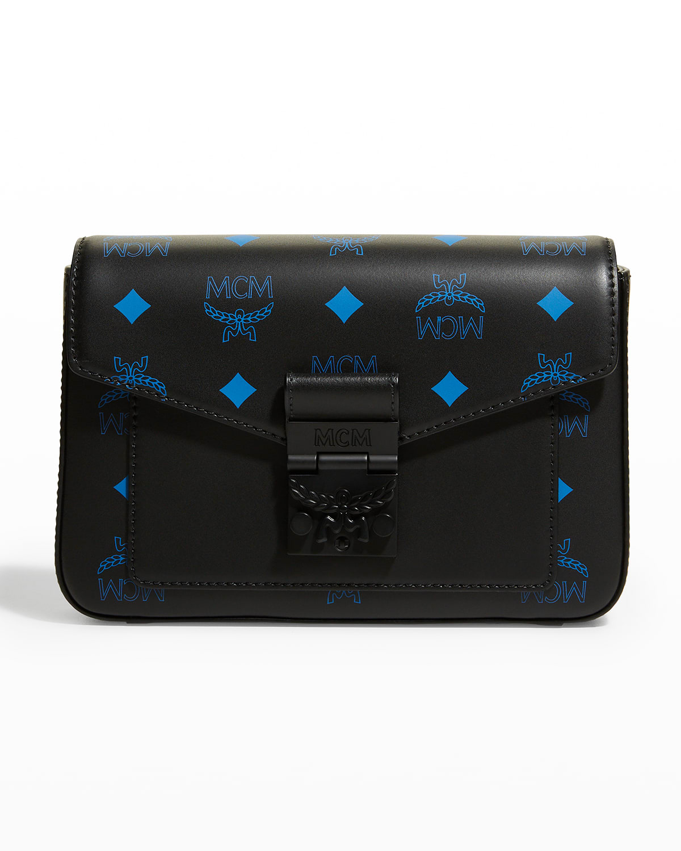 Color Splash Logo Small Messenger Crossbody Bag