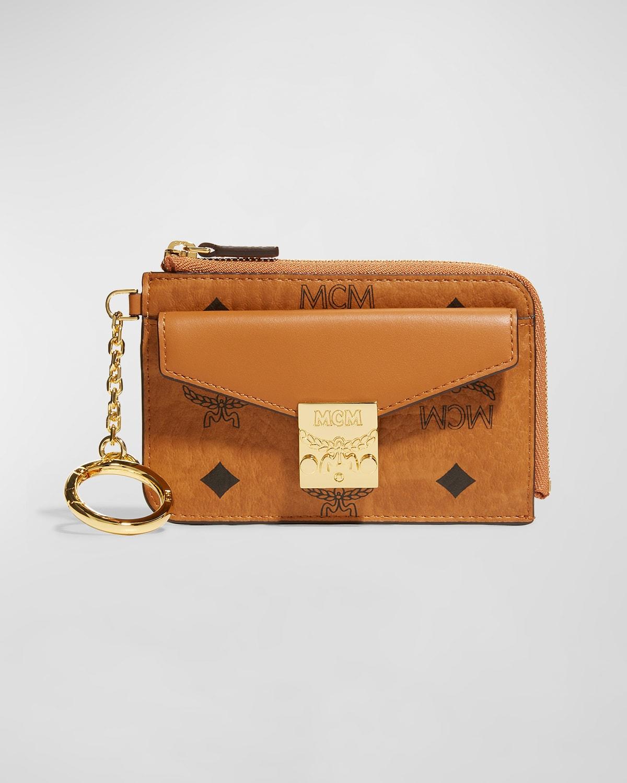 Patricia Mini Visetos Card Case Key Pouch