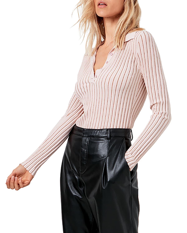 Modena Knit Long-Sleeve Top