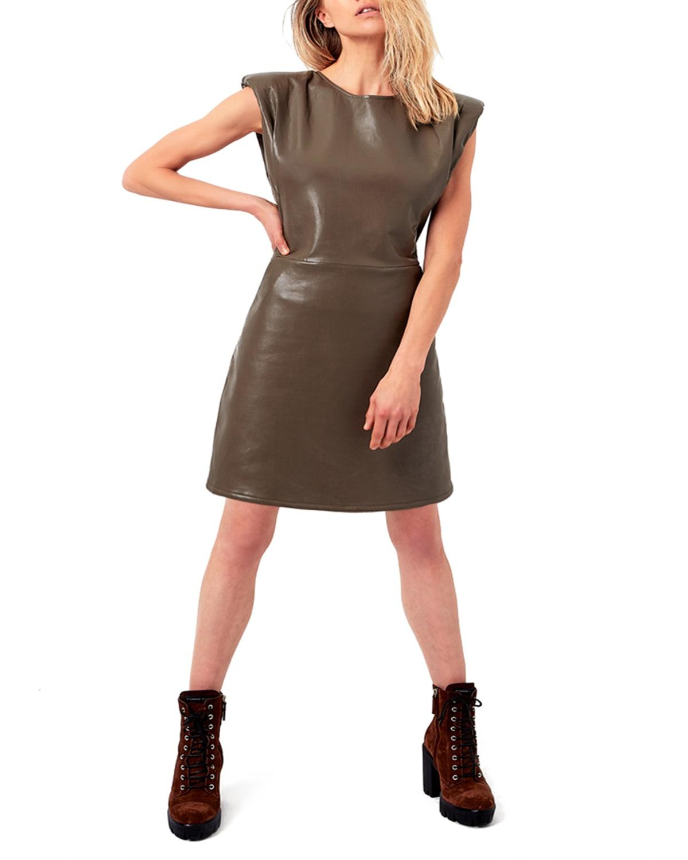 Port Elizabeth Recycled Leather Dress