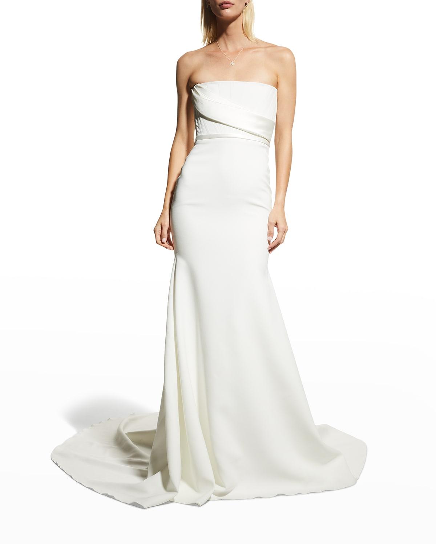 Elyse Satin Gown