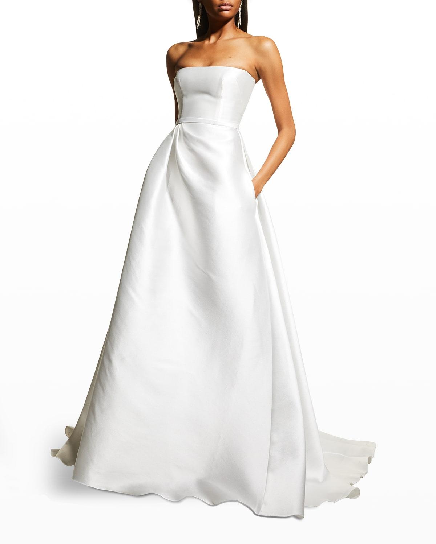 Abigail Satin Ball Gown