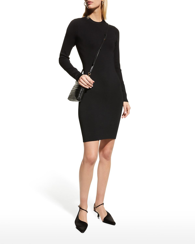 Estelle Twist-Back Mini Bodycon Dress