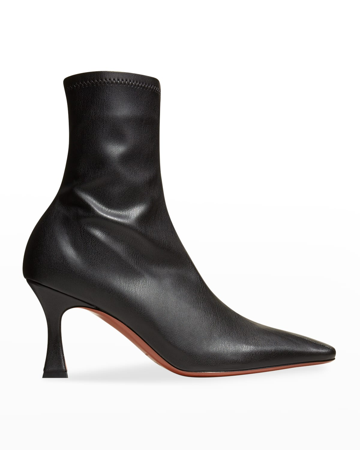 Duck Stretch Vegan Leather Booties