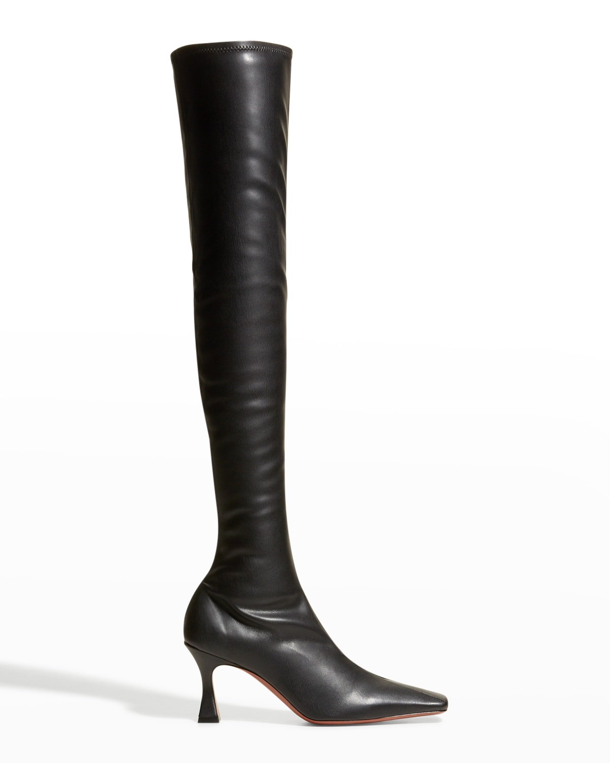 Vegan Leather Over-The-Knee Boots