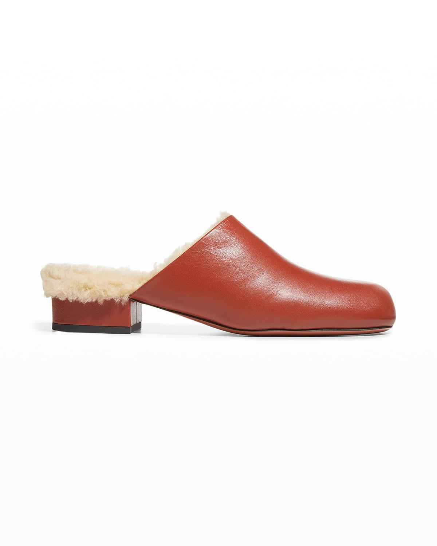 Beste Leather Mule Slippers