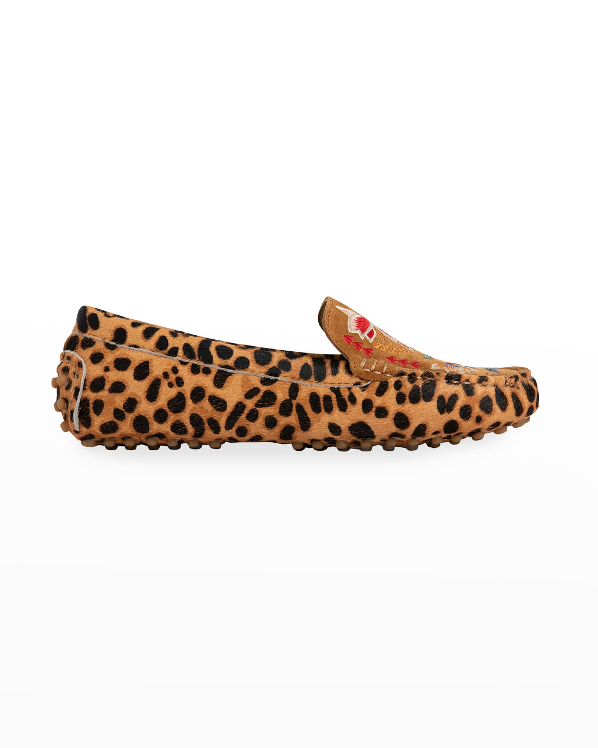 Taline Leopard Moccasin Loafers