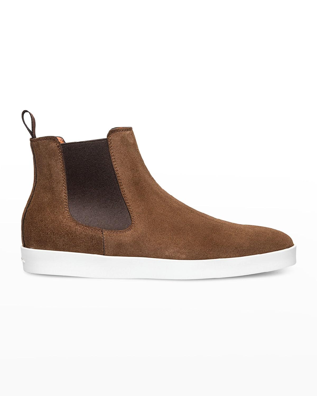 Men's Suede Chelsea Boot Sneakers