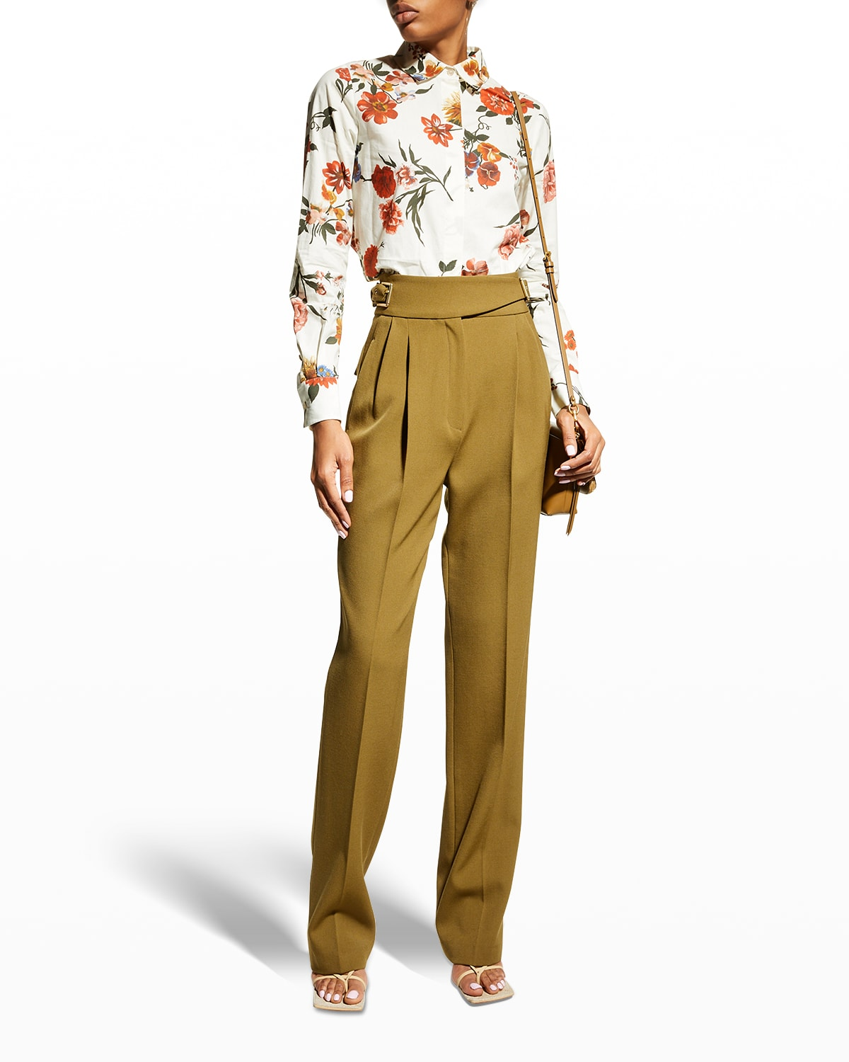 Thelma Floral-Print Blouse