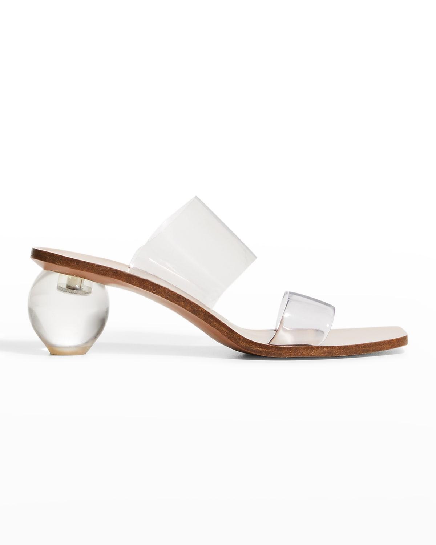 Jila Vinyl Slide Sandals