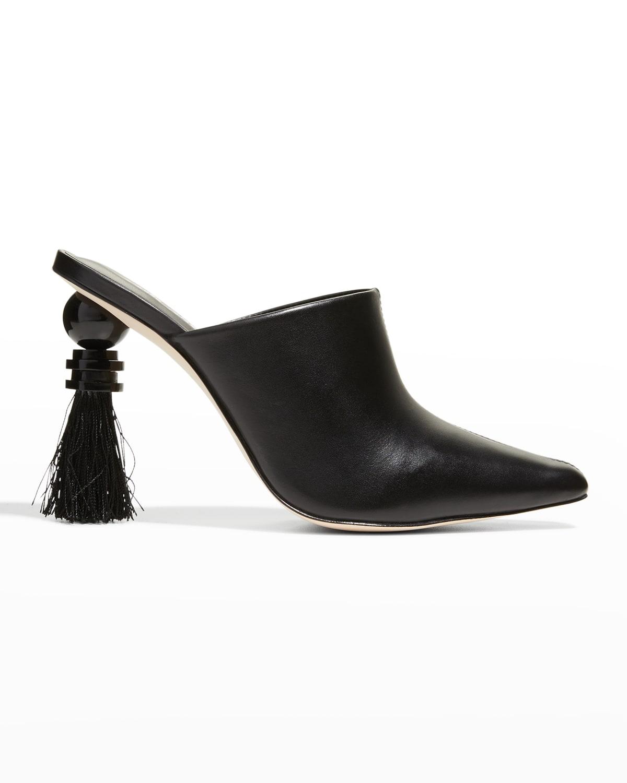 Tassie Architectural-Heel Slide Mules