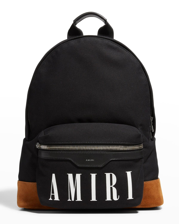Men's Canvas Logo Backpack
