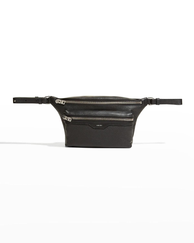 Men's Pebbled Belt Bag