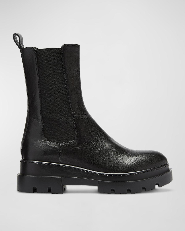 Braydon Waterproof Leather Chelsea Booties