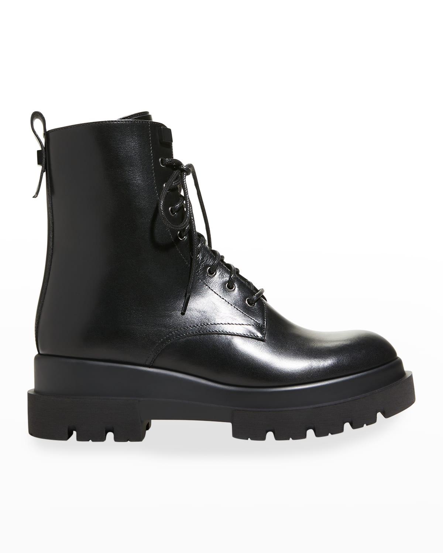 Brendan Waterproof Leather Combat Booties