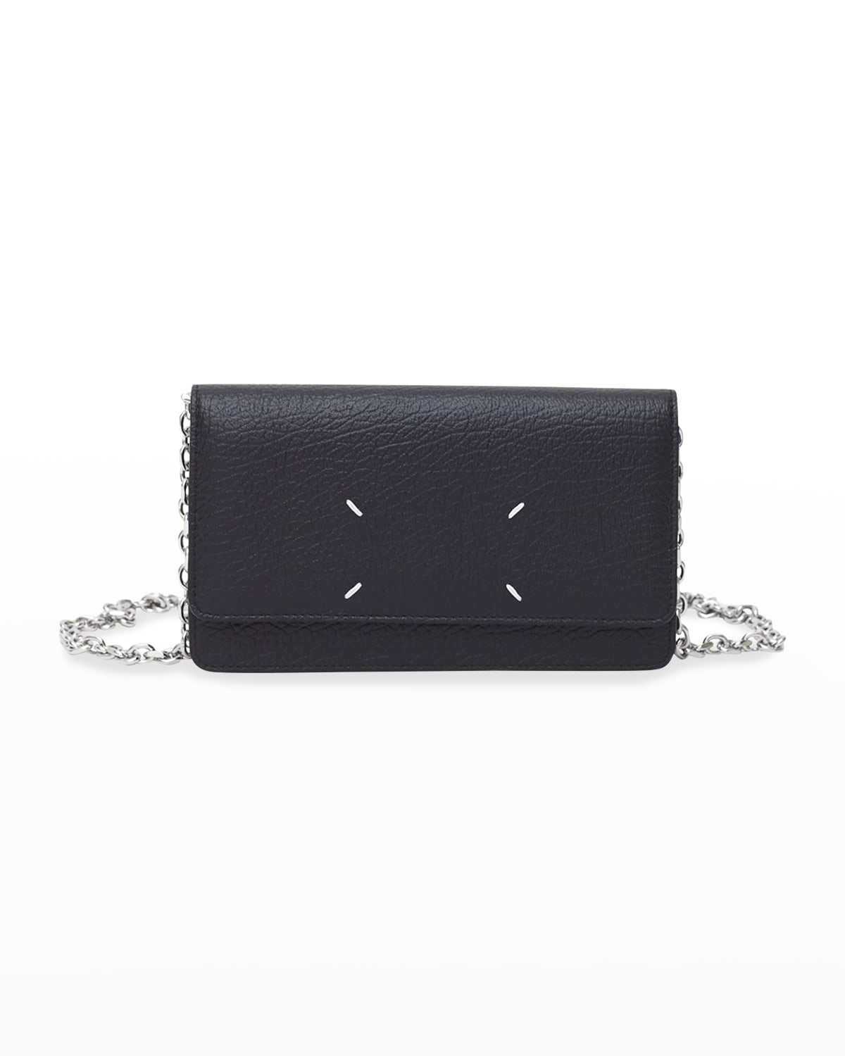 Four Stitch Leather Wallet-on-Chain