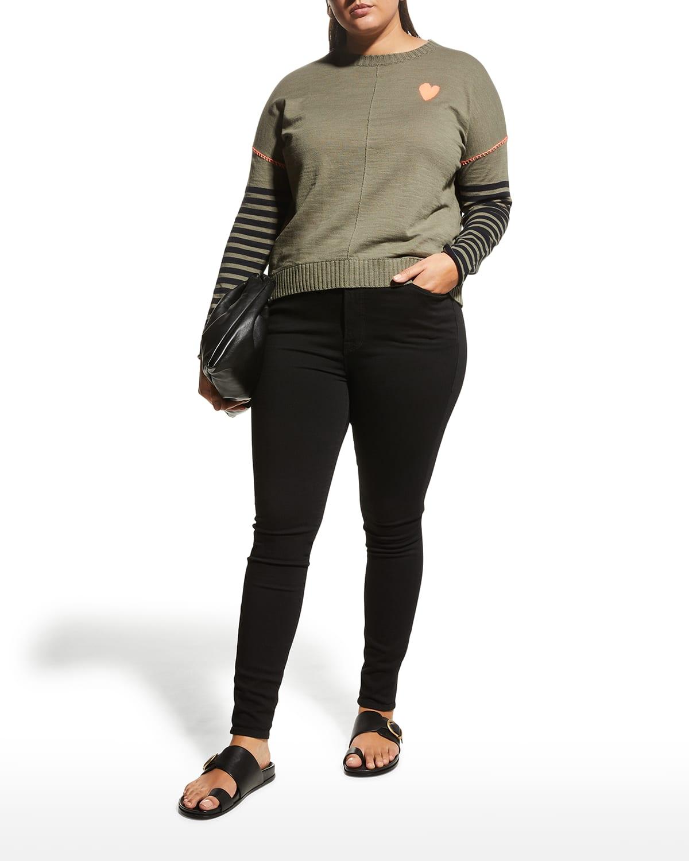 Plus Size Love On The Run Sweater