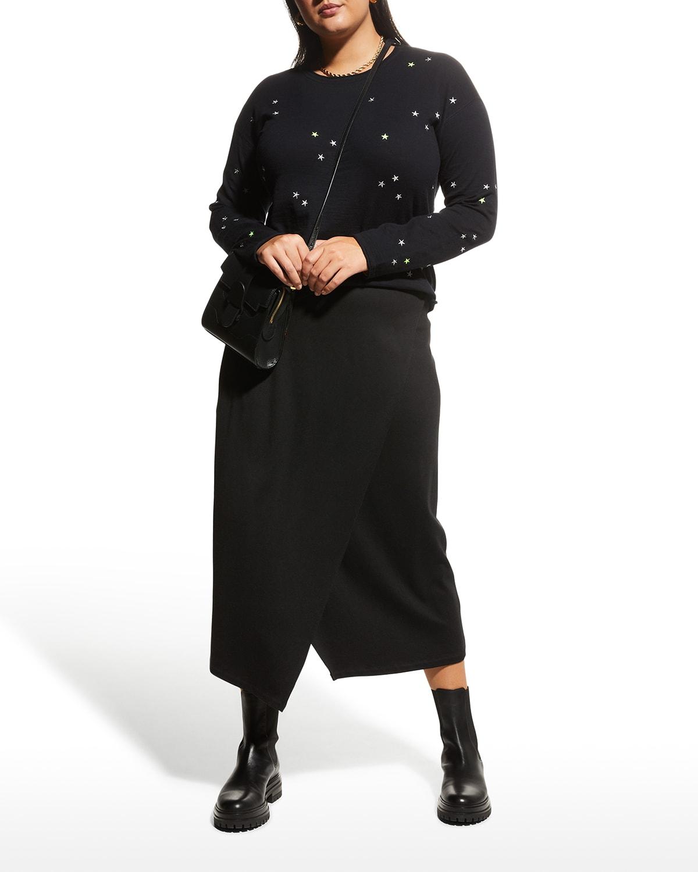Plus Size Cosmic Sky Sweater