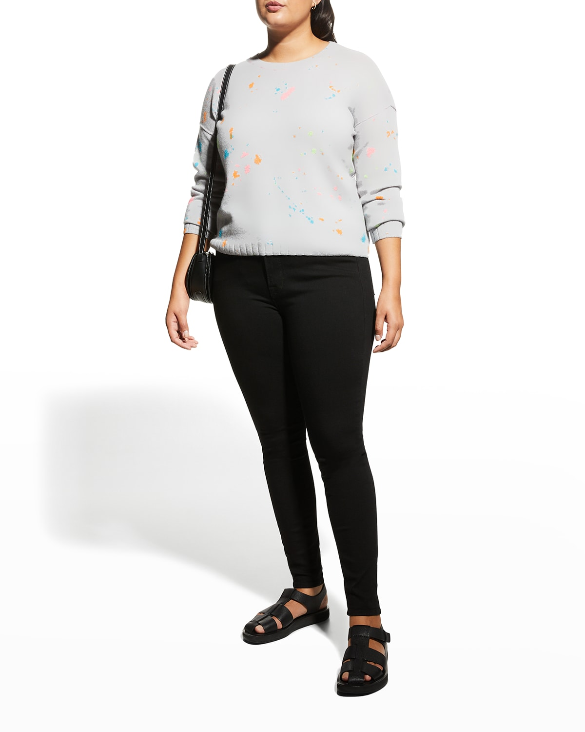 Plus Size Blank Canvas Cashmere Sweater