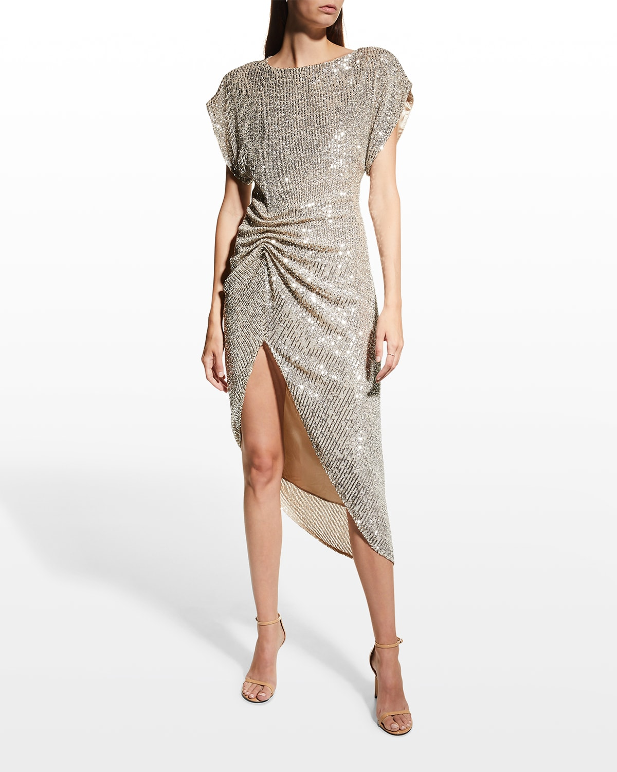 Bercot Sequined Cocktail Dress