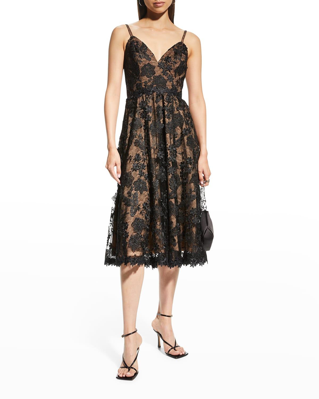Tahani Lace Swing Dress