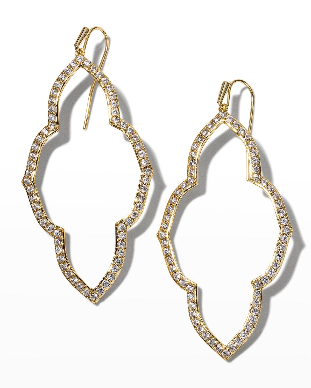 Abbie Open Frame Earrings