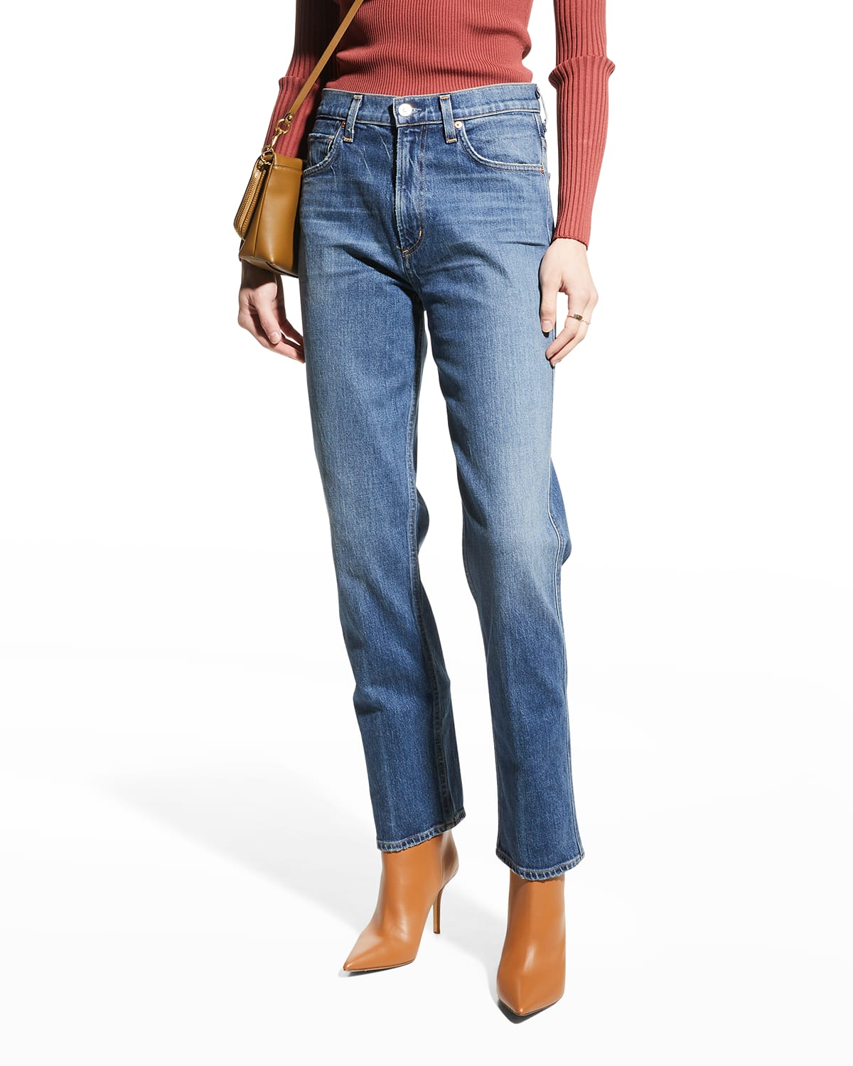 Daphne High-Rise Stovepipe Jeans