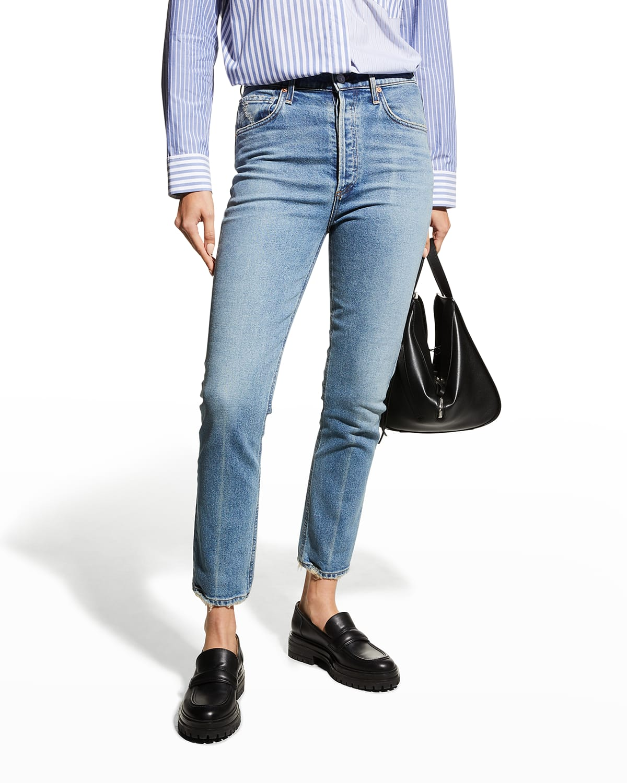 Jolene High-Rise Vintage Slim Jeans