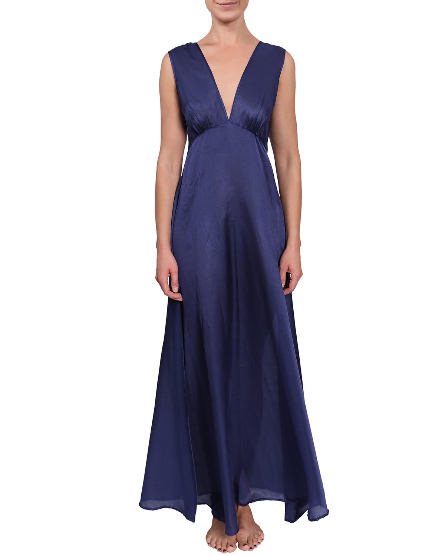 Amelia Sleeveless Empire Nightgown