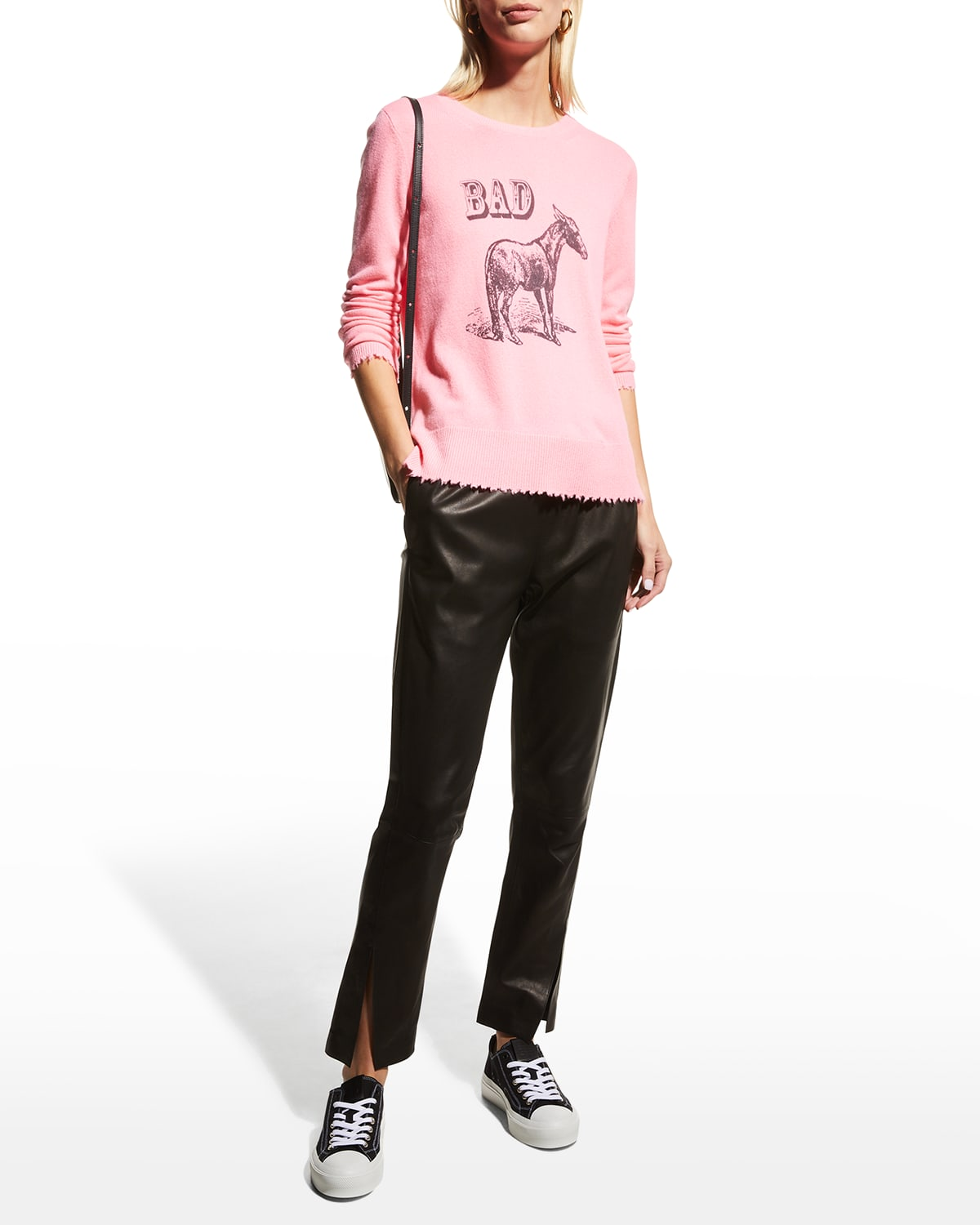 Bad Ass Graphic Cashmere Sweater