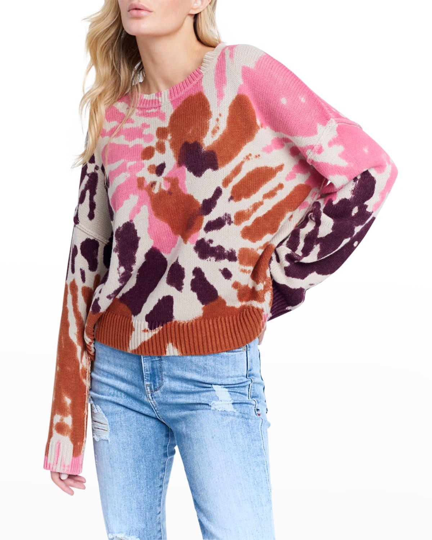 Dreamscape Tie-Dye Sweater