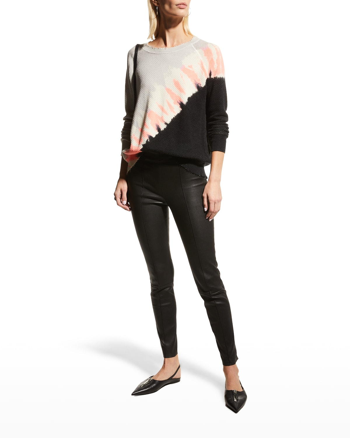 The Eclipse Printed Sweater