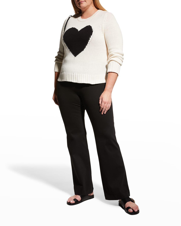 Plus Size Mad Love Intarsia Sweater