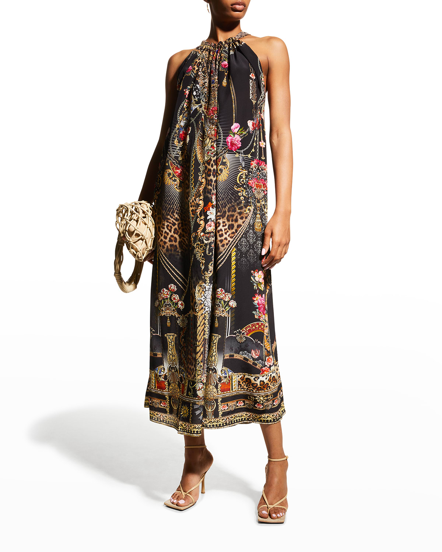 Gothic Goddess Convertible Drawstring Dress